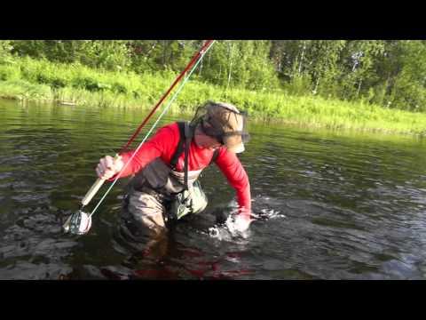 рыбалка на северном енисее