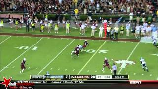 Bryn Renner vs South Carolina (2013)
