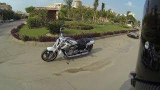 Harley-Davidson V-Rod Muscle walk around, start & short ride - YouTube