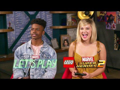 Cloak & Dagger Play LEGO Marvel Super Heroes 2 | Marvel Let's Play