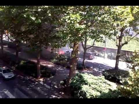 Incendie avenue René Coty - été 2012 -  Partie 1/2