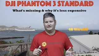 DJI Phantom 3 Standard - What's Missing & Why it Costs Less