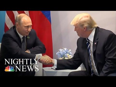 President Donald Trump Arrives In Helsinki Ahead Of Putin Summit | NBC Nightly News