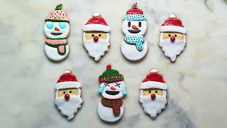 Very Merry Emoji Cookies by Tasty
