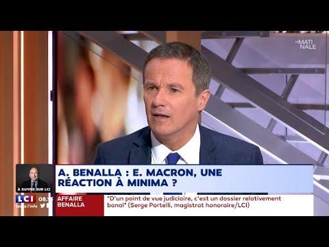 Nicolas Dupont-Aignan invité politique de la matinale LCI