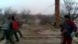 Chimney demolition FAIL