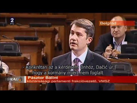 Híradó - Pásztor Bálint kérdőre vonta Ivica Dačićot-cover