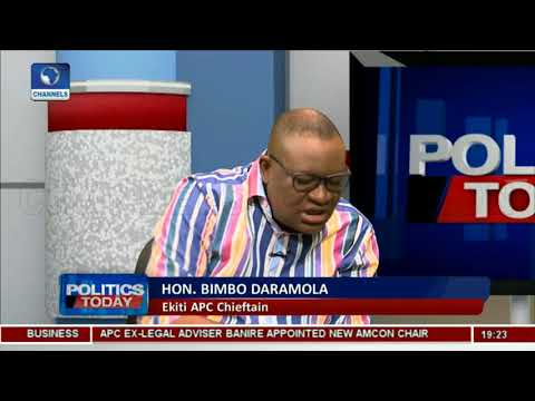 PDP Cannot Handle Ekiti Defeat- Bimbo Daramola |Politics Today|