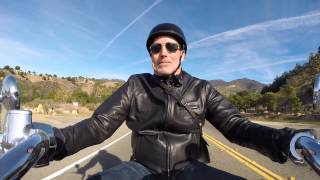 5. San Marcos Pass on an Indian Chief Classic