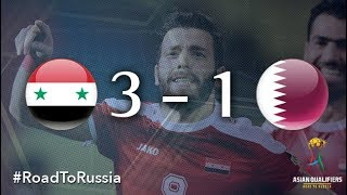 Syria vs Qatar (2018 FIFA World Cup Qualifiers)