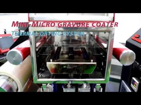 Mini gravure coater (видео)