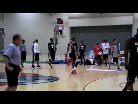 Jeremy Lamb buzzer beater - Rockets 2012 Training Camp