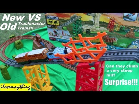 NEW Versus OLD Thomas & Friends Trackmaster Trains - Avalanche Escape
