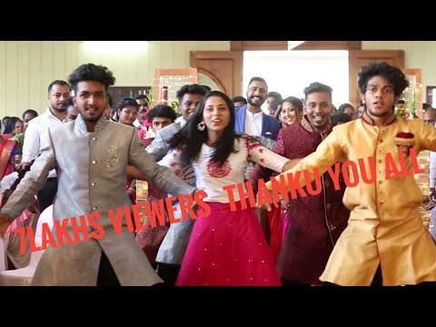 Betrothal welcome dance of ANJU and NIBIN