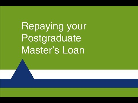 Repaying your Postgraduate Doctoral Loan