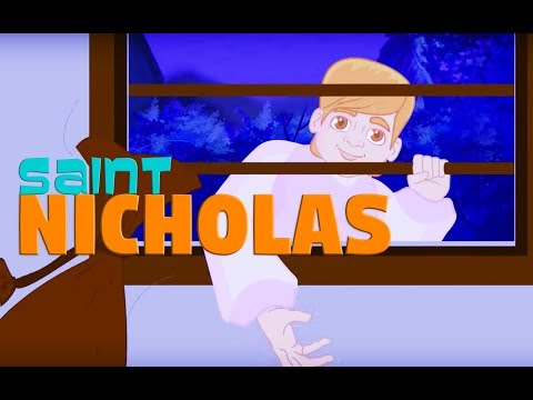 Story of Saint Nicholas - Part -1   | English | Story of Saints For Kids