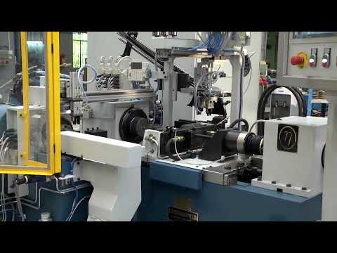 ETA Technology - Friction Welding Auto Loading Machine