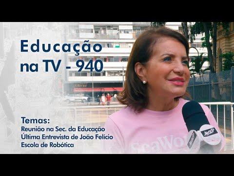 Reunião na Sec. da Educação | Última Entrevista João Felício | Escola de Robótica