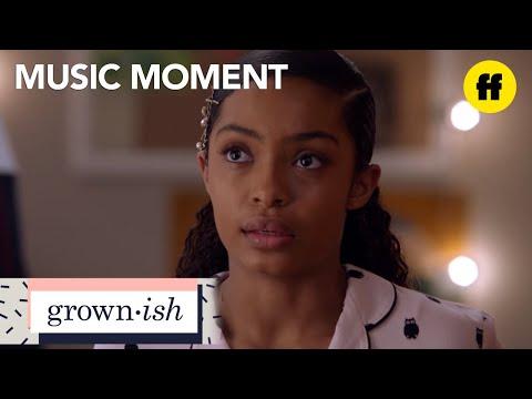 "grown-ish | season 1, episode 13: chloe x halle ""if god spoke"" music | freeform"