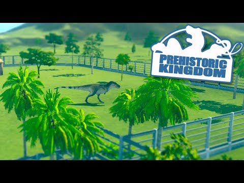 JURASSIC WORLD SIMULATOR!!! - Prehistoric Kingdom | Part 1