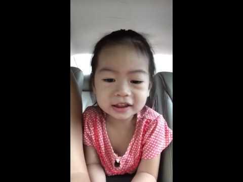 Pearlie 2.10 years singing Ya Leum Chan OST (видео)