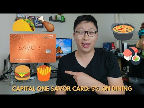 NEW Capital One Savor: 3% on Dining, No FX Fees, $0 AF