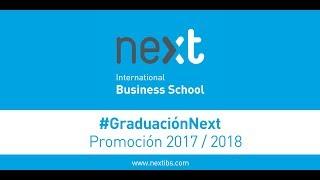 Acto de Graduación Next IBS 2017-2018