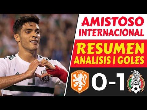 HOLANDA vs MEXICO (0-1) ⚽️ GOLES [Amistosos INTERNACIONALES hoy] (2020) RESUMEN Futbol EUROPEO 🔥👌