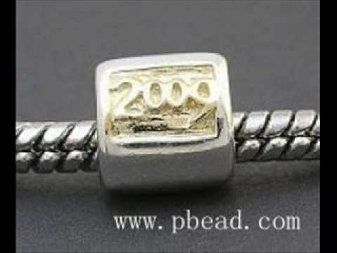wholesales pandora 925 sterling silver beads.wmv