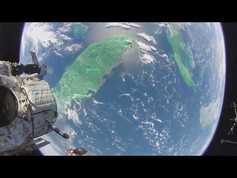 Опубликовано первое в истории панорамное видео из открытого космоса