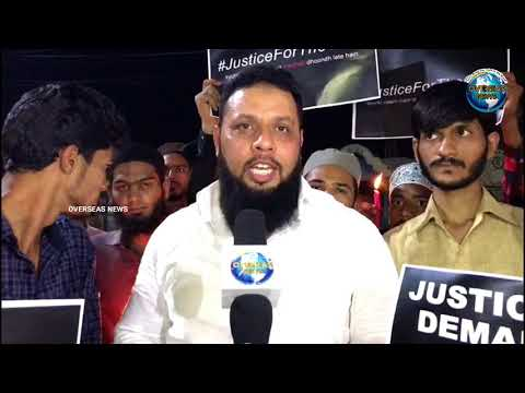 Esa Misri Silent Protest for Asifa Bano at Hyderabad | Justice for Asifa | Overseas News