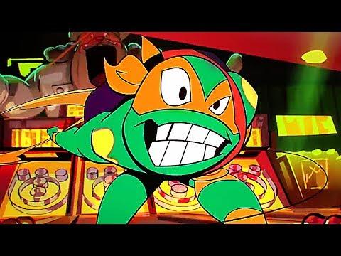 RISE OF THE TEENAGE MUTANT NINJA TURTLES Trailer  NEW, Comic Con