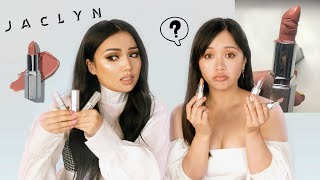 We tried JACLYN HILL Lipsticks !!! OMG !!! by Promise Tamangphan