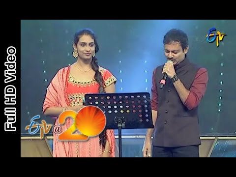 Video Ravivarma and Anjana Sowmya - Thugo Jilla Pilla Pago Jilla Song in Eluru ETV @ 20 Celebrations download in MP3, 3GP, MP4, WEBM, AVI, FLV January 2017
