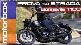 5. Triumph Bonneville T100 Black   La prova della classica intramontabile
