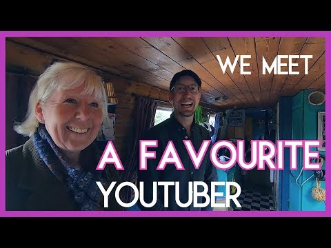 We Meet A YouTube Narrowboat Sensation! - Episode55