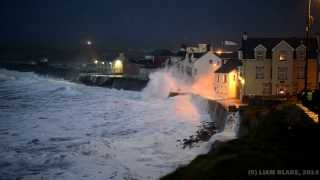 Clare Ireland  City new picture : Storm, Lahinch, Co. Clare, Ireland - January 2014