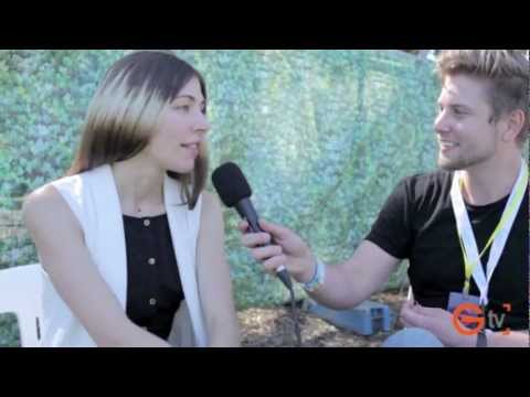 Caroline Polachek - Jonathon Hyde scoots backstage at the 2012 Parklife festival to chat with front lady Caroline Polachek of Indie band Chairlift about up and coming plans and ...