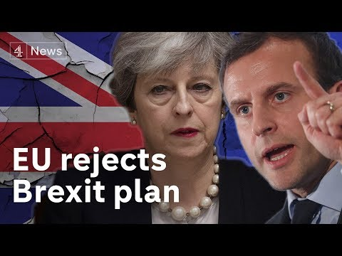 EU rejects UK's Brexit plan after summit