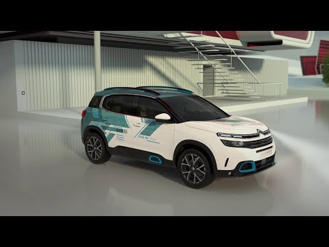 New Citroën C5 Aircross SUV Hybrid Concept