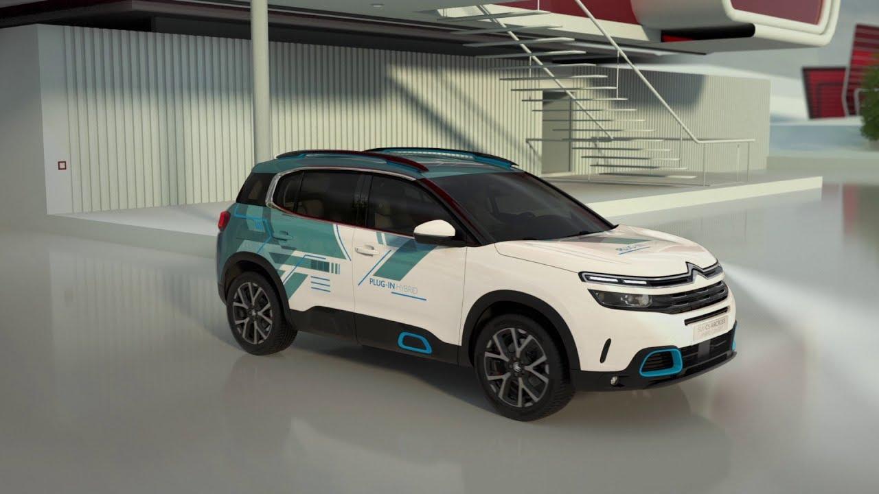 New Citroën C5 Aircross SUV Hybrid Concept