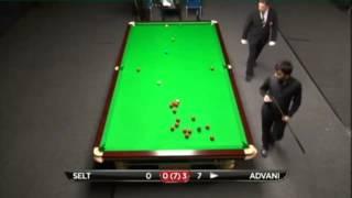 Matthew Selt - Pankaj Advani (Frame 4) Snooker Indian Open Qualifiers 2013 - Round 1