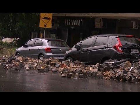 Φονικές πλημμύρες στο Ρίο Ντε Τζανέιρο
