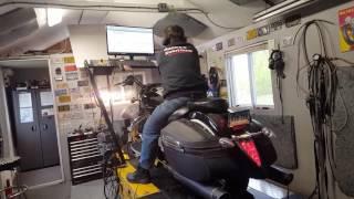 10. Yamaha Stratoliner on Dynometer