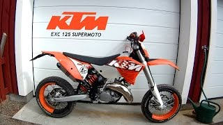 9. KTM EXC 125 Supermoto
