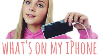 UPDATED: Whats on my iphone