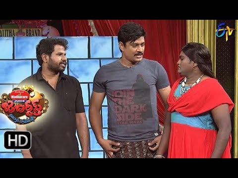 Hyper Aadi Raijing Raju Performance | Jabardasth| 2nd November 2017