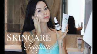 I'm finally sharing all my secrets for perfect skin with you guys! This video is all about my daytime and night time skincare routine as well as derma rolling (microneedling).Don't forget to thumbs up for more videos :) Can we reach 500K this weekend? :DPRODUCTS MENTIONED:Origins a Perfect World Eye Cream: http://amzn.to/2syQ8ABOrigins a Perfect World Daytime Moisturizer: http://amzn.to/2tqEDhjOrigins a Perfect World White Tea Toner: http://amzn.to/2szc7XXNivea Eye Makeup RemoverMurad AHA BHA Exfoliating Cleanser: http://amzn.to/2sySYoTMurad Rapid Age Spot Brightening Serum: http://amzn.to/2syY6JVMICRONEEDLING:Banish Acne Scars: http://bit.ly/2stL56KBanish Starter Kit: http://bit.ly/2a8EcNzBanish Kit: http://bit.ly/2tVZCsZMurad Vitamin C Moisturizer: Klarity Products: http://bit.ly/2sPzGQhOrigins Hydrating Mask: http://amzn.to/2szn5wwMurad Intensive Radiance C Peel: http://amzn.to/2sz321oBanish Pumpkin Enzyme Mask: http://bit.ly/2stL56K-  Banish Clay Mask: http://bit.ly/2stL56K-  L'oreal Detoxifying Clay MaskMore About Microneedling: Dermarolling remolds the skin by creating thousands of microscopic channels through the skin, increasing the formation of new tissue by activating the body's wound healing cascade (hemostasis-inflammation-proliferation-tissue remodeling). The micro-channeling causes the release of growth factors that promote scar-less healing and the deposition of normal woven collagen rather than scar collagen.________________Shop my Waist Trainers: https://www.waistcartel.comWe're close to 500k! Subscribe here: http://bit.ly/1ob99iQ Check out my french channel here: http://www.youtube.com/cocolilifrench___________Where to find me:♥ MY SNAPCHATlili.lizi♥ INSTAGRAM@cocoliliiBUSINESS INQUIRIES: COCOLILIPR@GMAIL.COM_______________________POPULAR VIDEOS:My Morning Routine: http://bit.ly/1XPu4L4My Fitness Routine: http://bit.ly/1Sln8VOAt Home Workout  No Equipment: http://bit.ly/2eAbkTbWhat I Ate Today  Healthy Meal Ideas : http://goo.gl/Myed31Waist Trainin