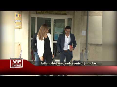 Iulian Herţanu, sub control judiciar