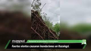 Inundaciones en Ituzaingó y conurbano por fuerte temporal.